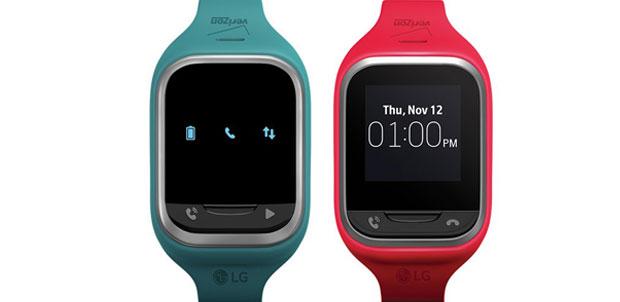 LG GizmoPal 2 y LG GizmoGadget wearables para niños