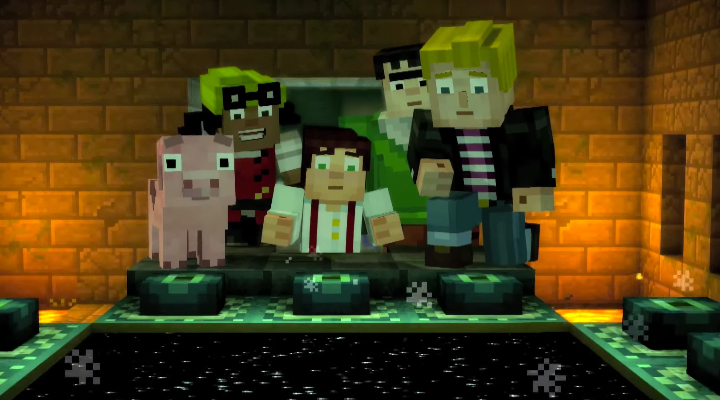 Minecraft Story Mode episodio 3 ya está disponible