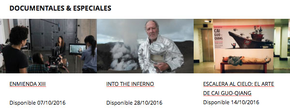 netflix documentales octubre 2016