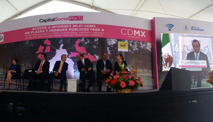 WiFi Gratuito de Infinitum en la ciudad de México