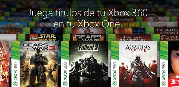 104 juegos con retrocompatibilidad en Xbox One