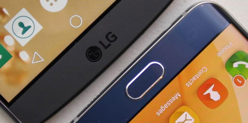 LG y Samsung no sacarán teléfonos con pantallas 4K