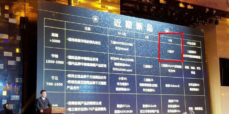 El nuevo Galaxy S7 llegará en marzo de 2016: China Mobile