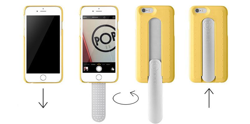 """Los tres selfie sticks más """"útiles"""" para tu iPhone"""