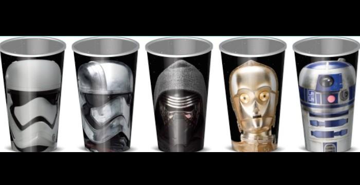 Star Wars Vasos de Cinepolis
