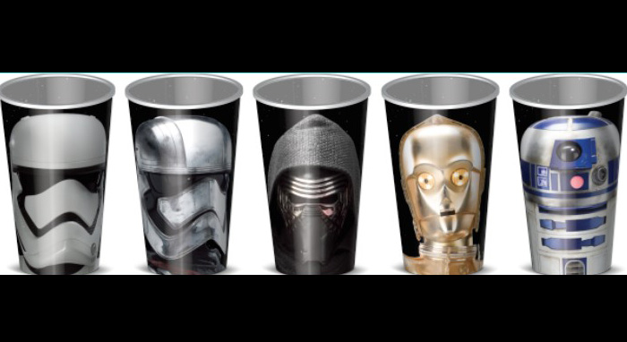 42 mil vasos de Star Wars rompen récord Guinness
