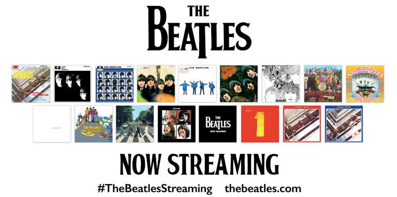 The Beatles sí llegarán a Apple Music, Spotify y más servicios