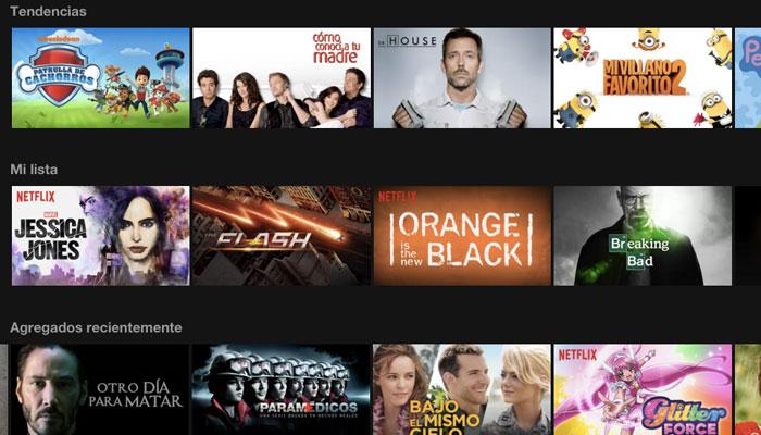 En Netflix y sus trucos