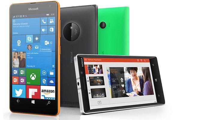 Windows 10 Mobile no en 2015