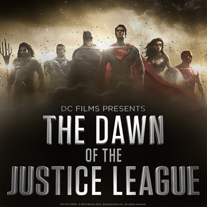 Dawn of the Justice League poster