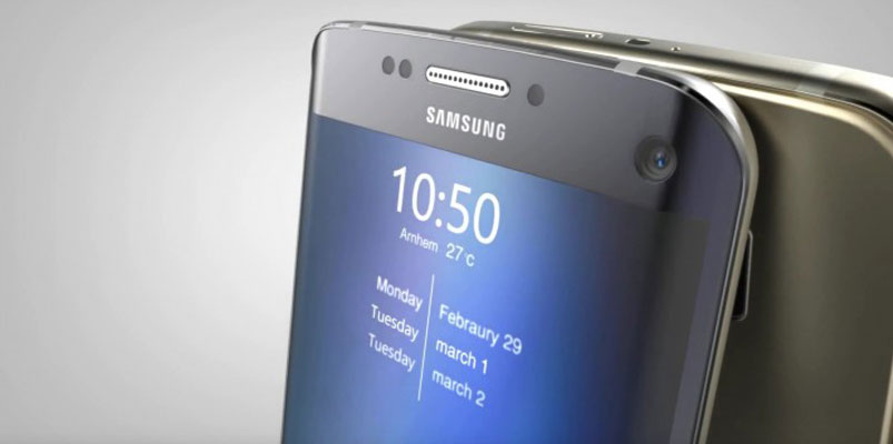 Galaxy S7 edge+ empleado