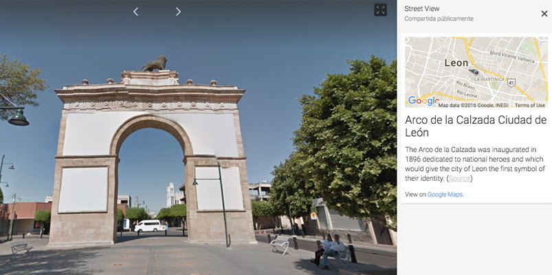 Google celebra los 440 años de León, Guanajuato