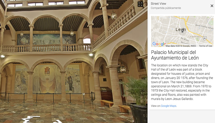 Google Street View Guanajuato