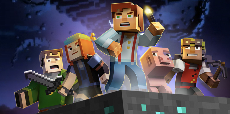 Minecraft Story Mode ya está disponible en Wii U