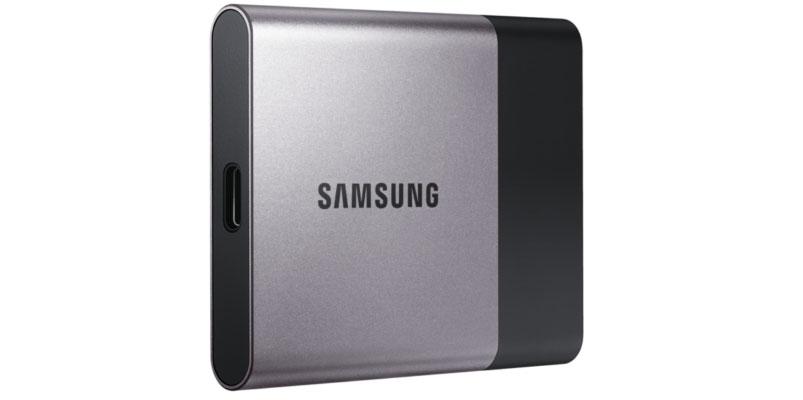 Samsung presenta Portable SSD T3 de 2TB en #CES2016