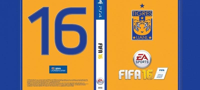 Portada FIFA 16 Tigres