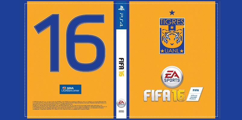 La portada de FIFA 16 ahora con tu equipo favorito