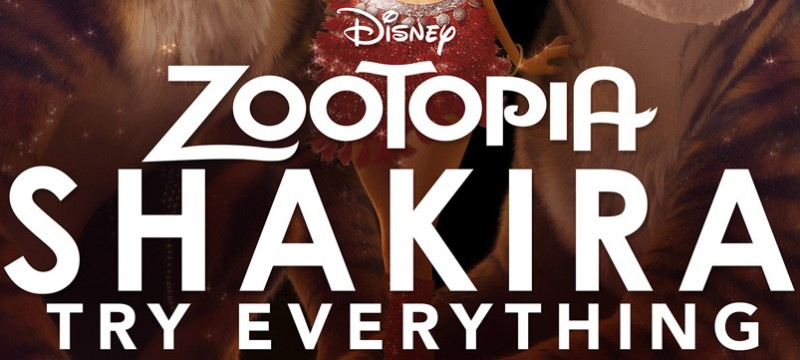 Shakira Try Everything Zootopia