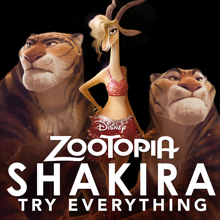 Shakira canción Try Everything