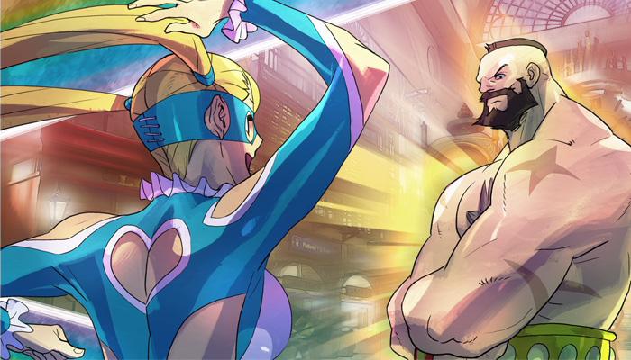 Street Fighter V Modo Historia