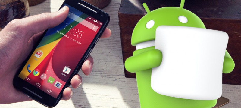 Android 6.0 Marshmallow Moto G