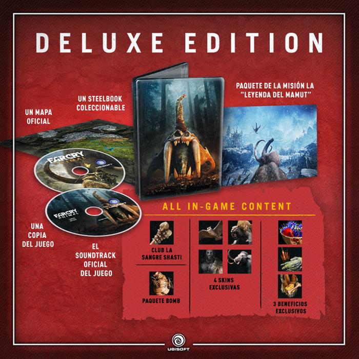 Edicion Delux Far Cry Primal