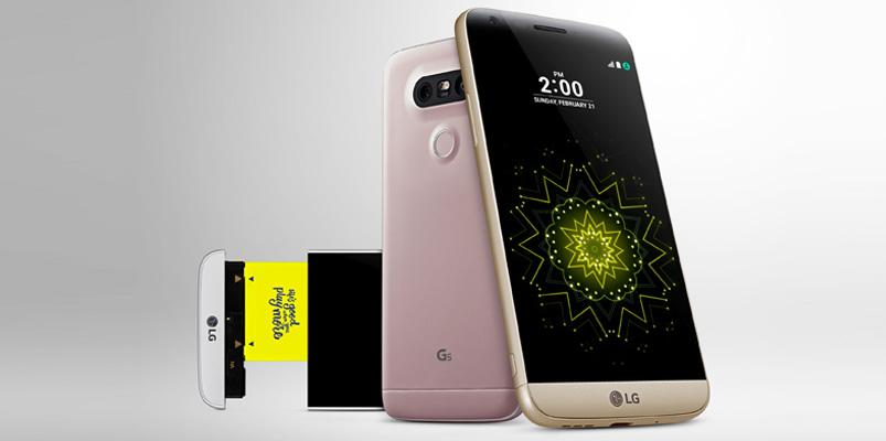 Especificaciones técnicas de LG G5