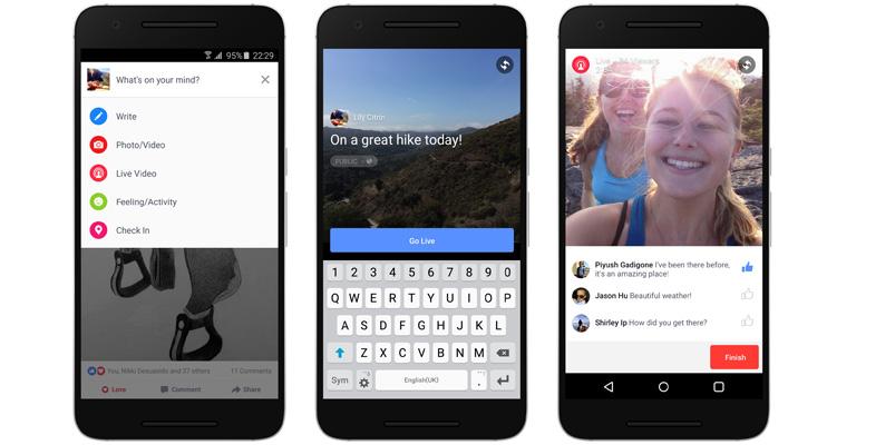 Facebook Live está listo para llegar a dispositivos Android