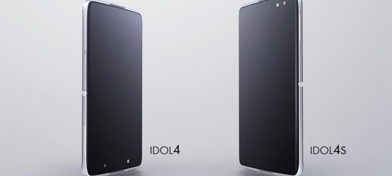 IDOL 4 e IDOL 4S diseño