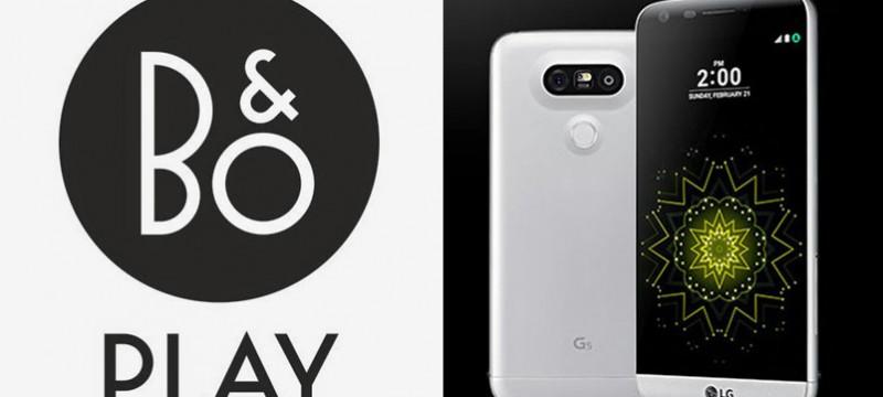 LG G5 con Bang & Olufsen