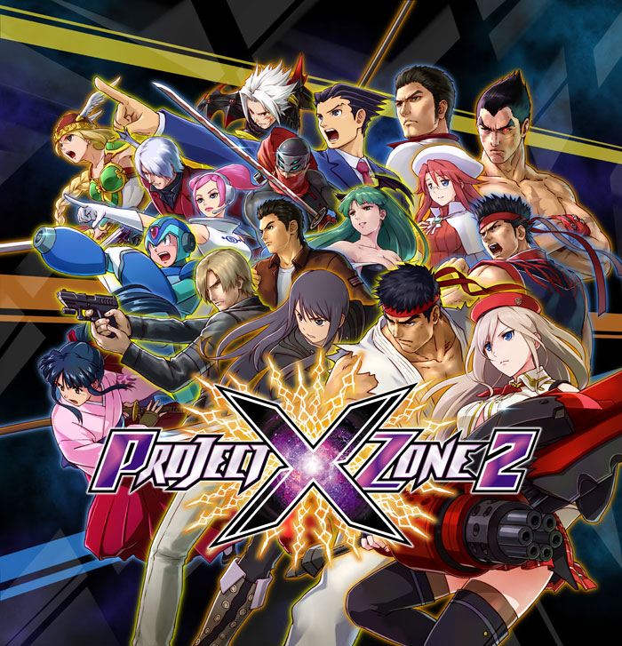 Project x Zone 2 personajes