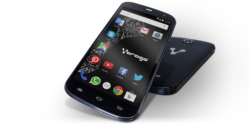 Vorago CELL 500 con pantalla de 5 pulgadas en México