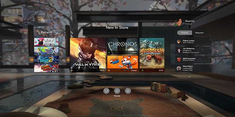 Los 30 juegos que tendrá Oculus Rift a finales de marzo