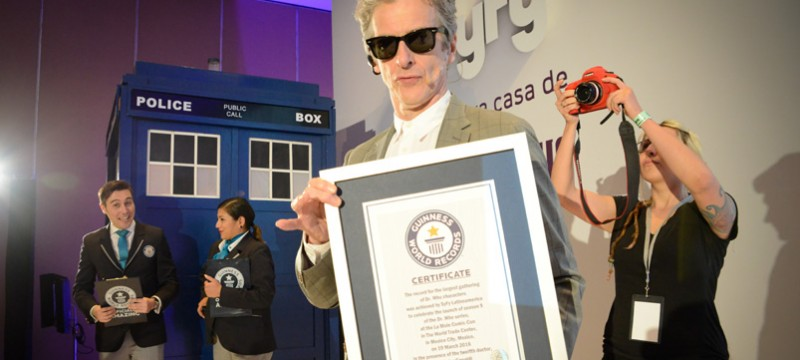 Doctor Who Guinness World Records