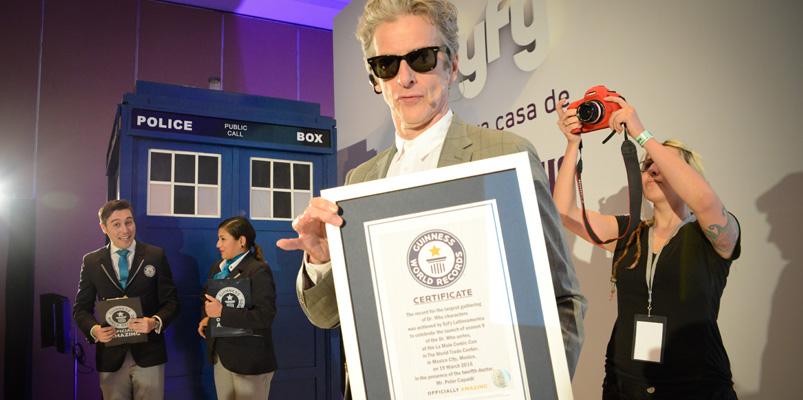 Doctor Who impone nueva marca del Guinness World Records