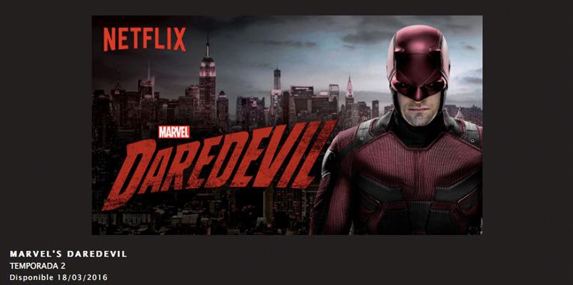 Series, películas y documentales en Netflix marzo 2016