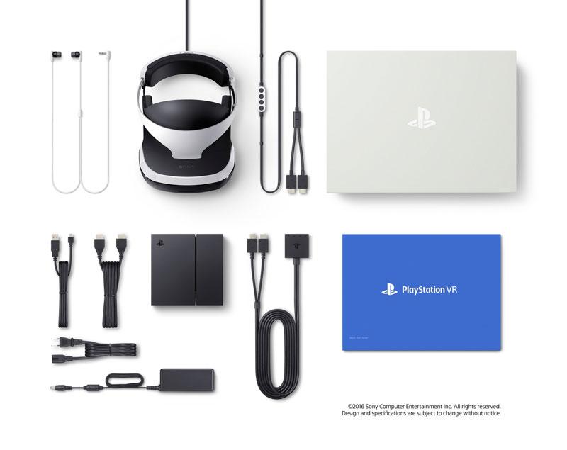 PlayStation VR contenido
