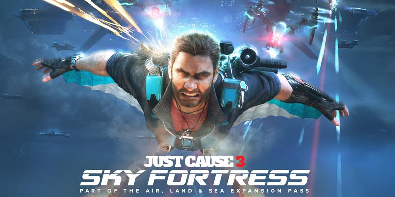 Sky Fortress el primer DLC de Just Cause 3