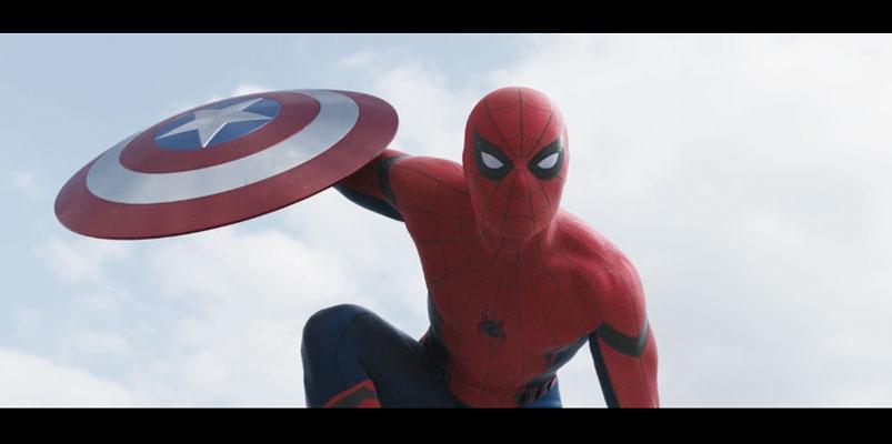 Spider-man se une al equipo de Iron Man en Civil War