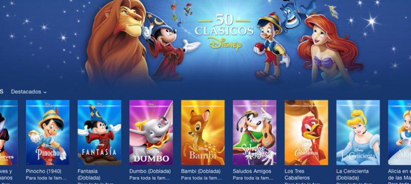 50 Clasicos Disney iTunes