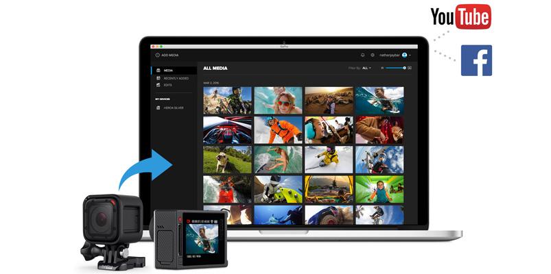 Las funciones de la nueva App GoPro para Windows y Mac
