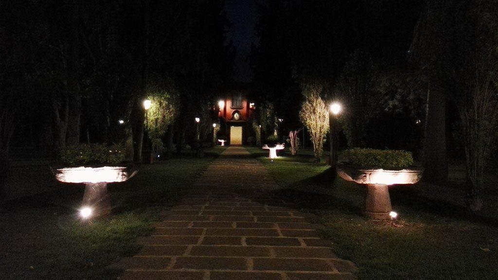 GX8 foto normal de noche