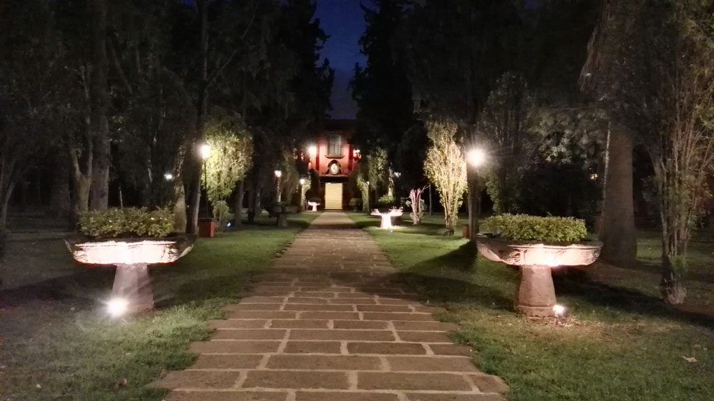 GX8 foto HDR de noche