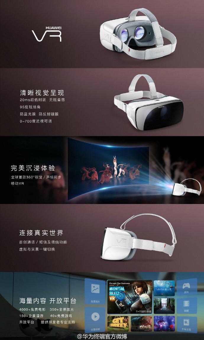 Huawei VR contenido