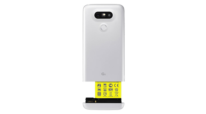 LG G5 acabado LM201