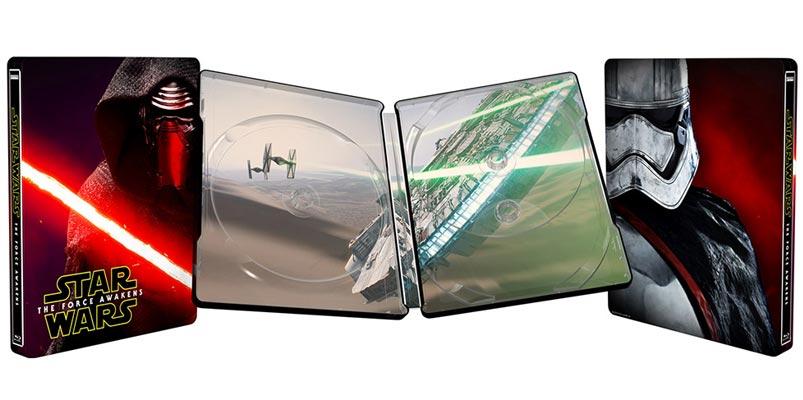 Blu-ray de Star Wars: El Despertar de la Fuerza el 6 de abril