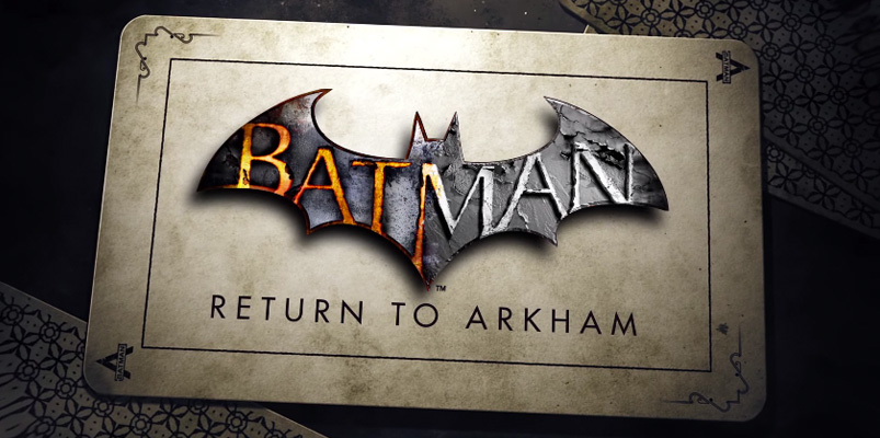 Batman: Return to Arkham llegaría al PlayStation 4 y Xbox One
