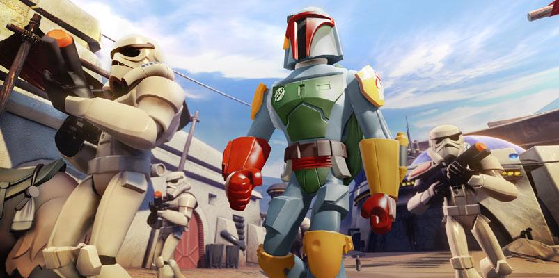 Boba Fett y los nuevos personajes de Disney Infinity 3.0