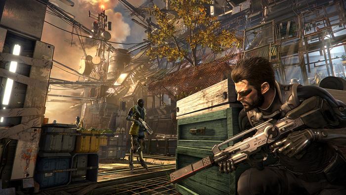 Deus Ex Mankind Divided trailer live action