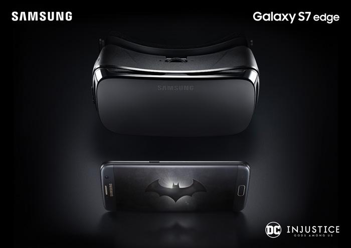 Galaxy S7 edge Injustice Edition contenido